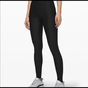Black lululemon mapper high rise leggings